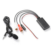 Car Bluetooth Connection Adapter Stereo 2RCA AUX In Audio Input Wireless MA2249