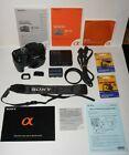 Sony Alpha a100 10.2MP Digital SLR DSLR Camera Damaged & Accessories picture