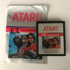 E.T. Atari 2600 Original Game Cartridge & Manual