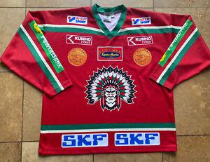 FROLUNDA INDIANS SWEDEN FAN KHL NHL IIHF HOCKEY JERSEY MENS LARGE