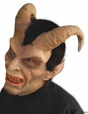 Horned Elegant Devil Latex Mask Quality Halloween Costume Krampus Zagone Studios
