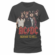 Ac/dc - H2h Photo T-shirt Charcoal EX Large Tshirt