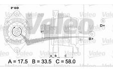 VALEO Alternador para OPEL ASTRA ZAFIRA CORSA VECTRA FRONTERA COMBO OMEGA 436683