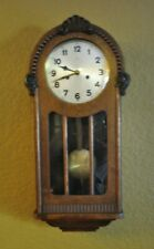 Antique Germany Wall Clock Two Arrows, Schlenker & Kienzle, Vienna Regulator