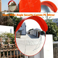 """New listing 24"""" Outdoor Wide Angle Security Convex Pc Mirror Road Traffic Driveway Safe New"""
