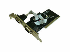 Carte PCI SERIE RS232 - 2 PORTS COM DB9 - CHIPSET WCH