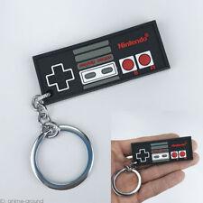 Nintendo Controller NES Pendant Keychain Keyring Silicone For Fan Gift Otaku New