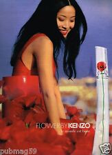 Publicité advertising 2012 Parfum Flower by Kenzo