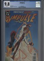 Impulse #1 CGC 9.8 Mark Waid HUMBERTO RAMOS 1995