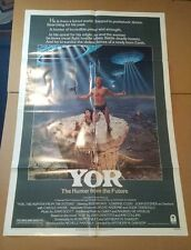 Yor the Hunter from the Future Reb Brown Real advance movie poster 1983 27X41 p1