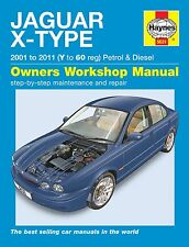 Haynes Owners Workshop Manual Jaguar X Type Petrol Diesel (01-11) SERVICE REPAIR