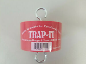 Wildlife Accessories Trap-It Ant Moat Trap for Hummingbird Nectar Feeders RED