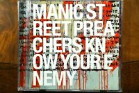 Manic Street Preachers - Know Your Enemy  -  CD, VG