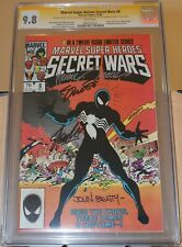 CGC SS 9.8 MARVEL SECRET WARS #8 SIGNED STAN LEE, SHOOTER, BEATTY and ZECK!!!!!!