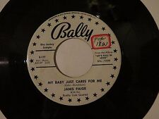 JANIS PAIGE - MY BABY JUST CARES FOR ME / I HADNT ANYONE TILL YOU BALLY # 12008
