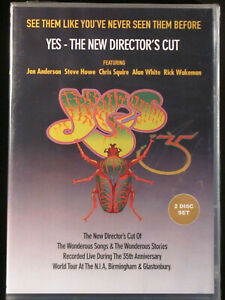 YES - THE NEW DIRECTOR'S CUT - (2 DISC DVD SET) - BRAND NEW/ SEALED - SEE NOTES!