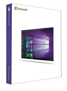 Microsoft Windows 10 Pro 32/64 Bit Flash Drive FQC-08789 New Sealed