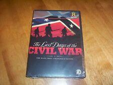 LAST DAYS OF THE CIVIL WAR 1865 Confederacy Confederate Union 2 DVD SET NEW