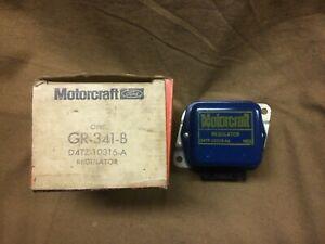 1970's Ford,Lincoln,Mercury NOS Motorcraft 12V voltage regulator, D4TZ 10316-A