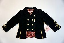 NWT Juicy Couture Baby Girl Black Jacket 12 Months $98