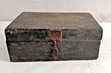 Vintage Hand Crafted Wooden Spice Box Old 6 Compartment Kitchenware Box 01