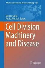 Cell Division Machinery and Disease (English) Hardcover Book Free Shipping!