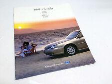 1997 Chevrolet Malibu Cavalier Lumina Monte Carlo Camaro Preview Brochure
