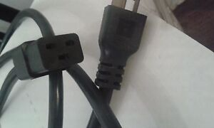 INTERPOWER  POWER SUPPLY CORD   8.2 ft  / 2.5m   # 86226020    20A    12 GAGE