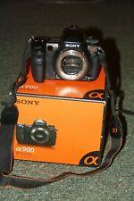 Sony Alpha a900 24.6MP Digital SLR Camera - Black (Body Only)