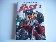 MANGA - THE BOSS N°5 - KIM TAE-KWAN . LIM JAE-WON