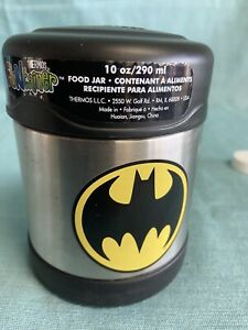 NEW Batman Thermos FUNtainer Insulated Hot/Cold Stainless Steel Food Jar 10 Oz