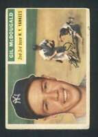 1956 Topps #225 Gil McDougald VGEX Yankees 84369