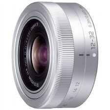 NEW Panasonic Lumix G Vario 12-32mm f/3.5-5.6 ED Mega OIS Lens Silver - Bulk