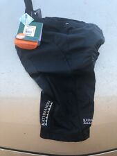 Padded Cycling Shorts black Kathmandu Size 10 Women's Roubaix Shorts