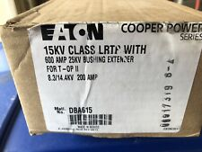 Eaton 15Kv Class Lrtp w/600 Amp 25Kv Bushing Extender, Part # Dba615, New In Box