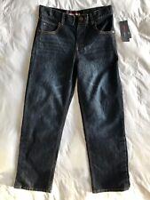 Tommy Hilfiger Boys 6/16 Rebel Skinny Blue Jeans Dark Wash Slim Fit Stretch New