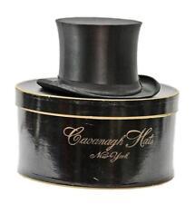 Antique Szczowinsky Black Silk Collapsible Men's Top Hat Cavanagh Box Steampunk