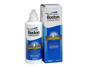Boston Conditioning Solution Contact Lens 120ml Hard RGP Lenses May 2024 Expiry