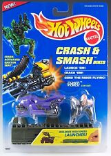 Hot Wheels Crash & Smash Bikes Cyber Force Stryker With Launcher New 1995
