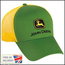 Vendedor Reino Unido Nuevo Original John Deere Verde Amarillo Trucker De Malla PAC Tractor Sombrero