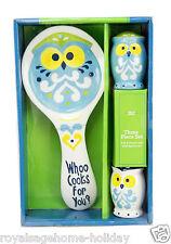 65573 Crazy Owl Candy Dish Halloween Table Decoration Pop Art Display Bird