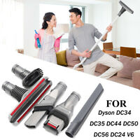 5pc Vacuum Cleaner Brush Head Tool Kit For Dyson DC34 DC35 DC44 DC50 DC56 DC59