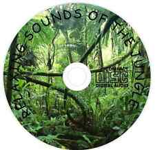Relaxation Meditation &  Sleep Aid Calming Natural Sounds of the Jungle CD 056