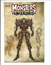 MONSTERS UNLEASHED # 3 (YU MONSTER VARIANT, APR 2017), NM NEW