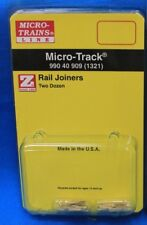 Z Scale - MICRO-TRAINS MTL 990 40 909 Rail Joiners - Total 24 pieces