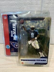 McFARLANE Toys NFL STEVE MCNAIR Tennessee Titans Series 8 NEW