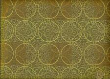 Crypton® Mayer Paetz New Dimensions Old Bronze Geometric Upholstery Fabric