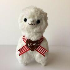 AMUSE Valentine's Day Sweet Arpakasso White Boy (16cm) Alpacasso Plush Japan