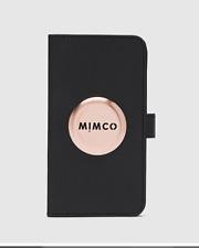 Mimco MIM Flip Case for iPhone 11 Black Rose Gold Postage