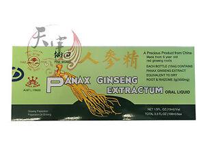 Panax Ginseng Extractum Oral Liquid 10 x 10 ml